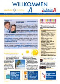 ApoMeidlingZeitungWillkommenszeitungSommer2012